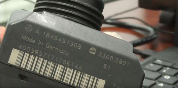 How to collect data for old version Benz W164-2