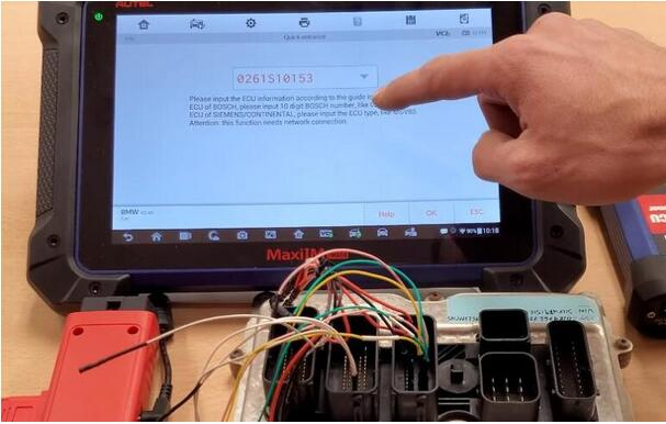 How-to-Use-Autel-G-Box2-Read-ISN-Code-for-BMW-N20-DME-4
