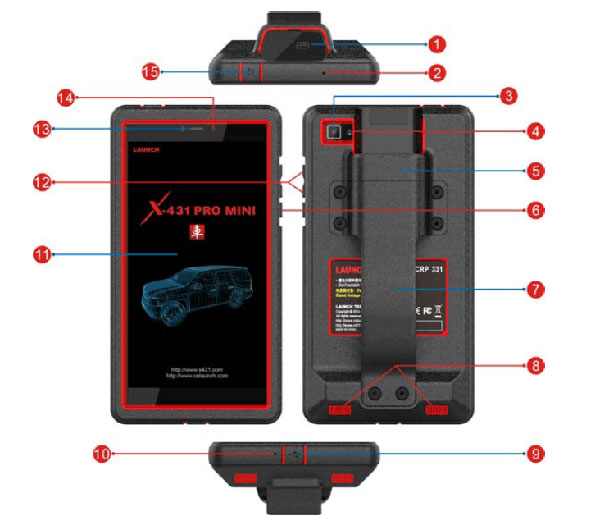 Launch x431 pro mini Diagnostic Tool